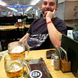 Plzeňské pivo na pražském letišti