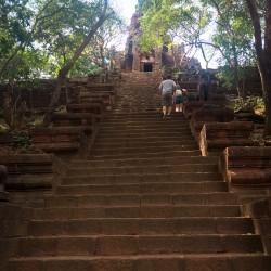 Schody na Banana Temple