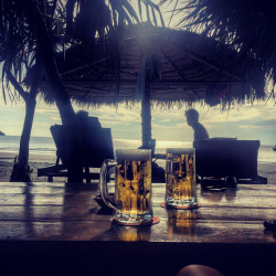 Pivo na úplném konci Otres 2 Beach