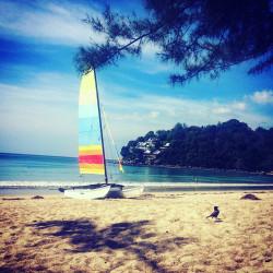 Pláž na Phuketu