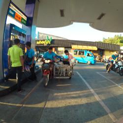 Psi na benzínce