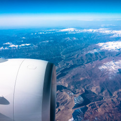 Letíme zpátky domů