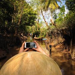Takové Benátky na deltě Mekongu