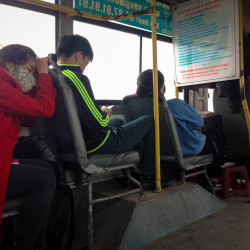 Unavený autobus