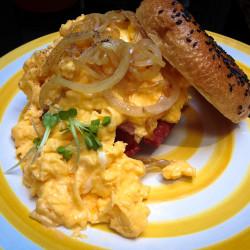 Burger v Gallery Café